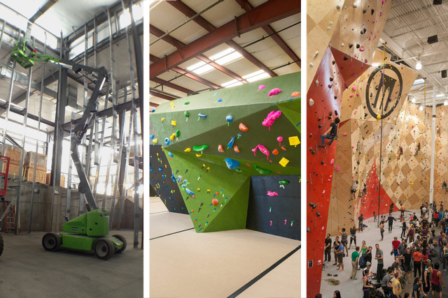 Movement - Denver. Circuit - Tigard. Brooklyn Boulders - Chicago.