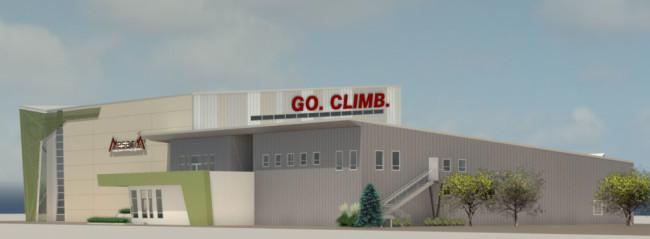 Mesa Rim Reno building rendering.