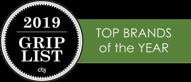 2019 CBJ Grip List Top Brands of the Year