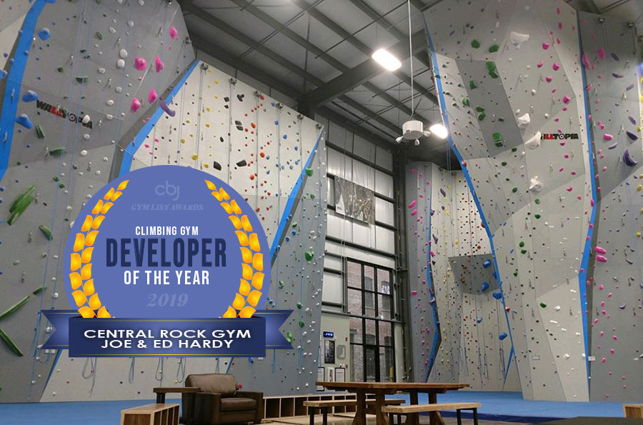 2019 Climbing Gym Developer of the Year is Central Rock Gym