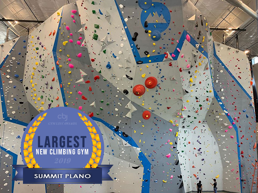 2019 Largest New Climbing Gym is Summit Plano