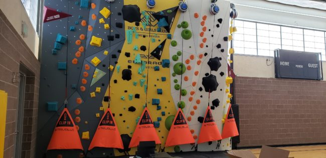 1Climb Brings Climbing to Youth - Climbing Wall in Denver