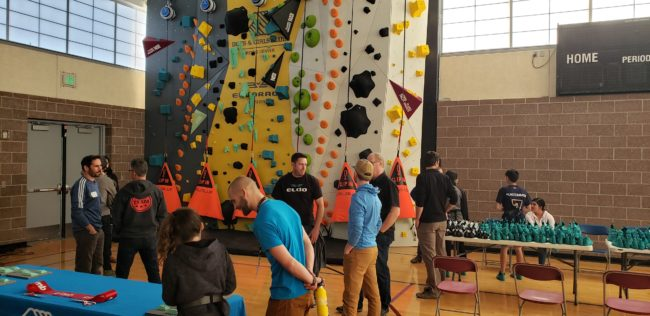 1Climb Brings Climbing to Youth - Denver Wall Opening