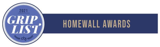 2021 Grip List Homewall awards banner