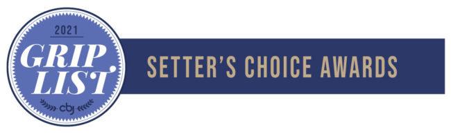 2021 Grip List Setter's Choice awards banner