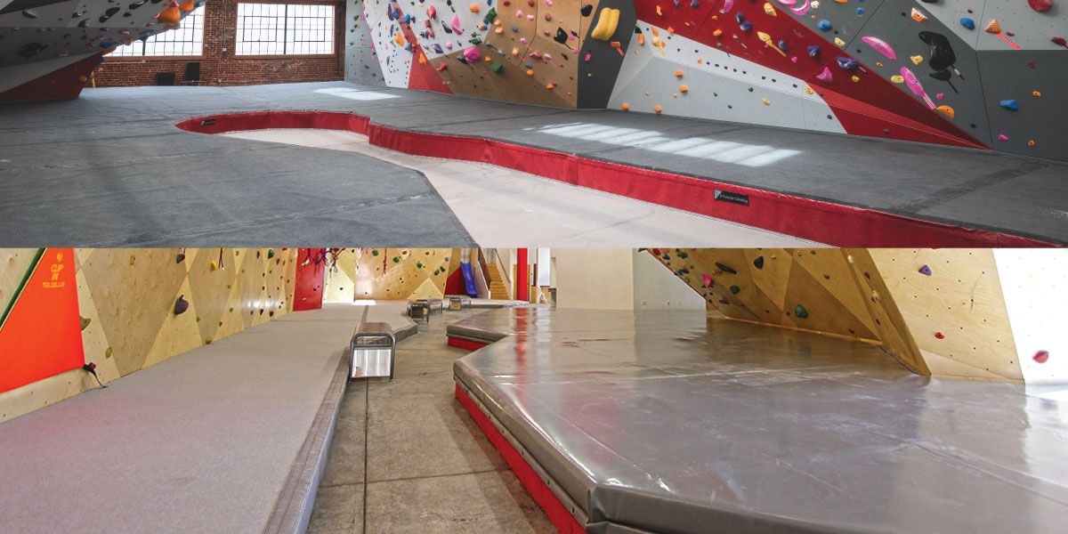 Flooring for Climbing Facilities