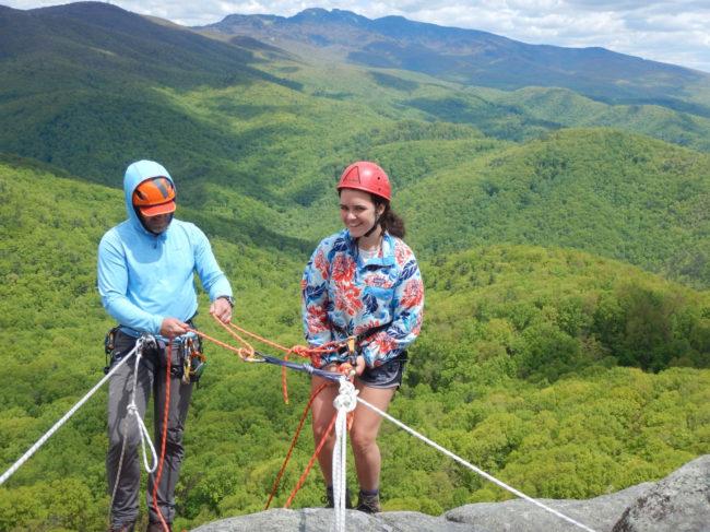 AML rock climbing program