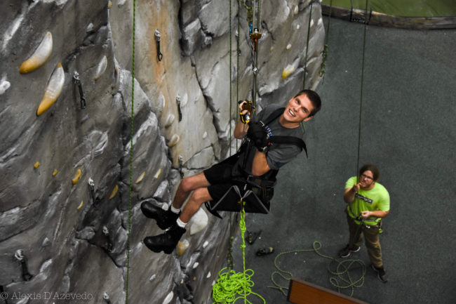 Industry partnerships in the COVID era have helped keep Paradox's adaptive climbing opportunities going.
