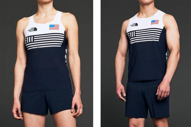 American Olympians tanks uniforms