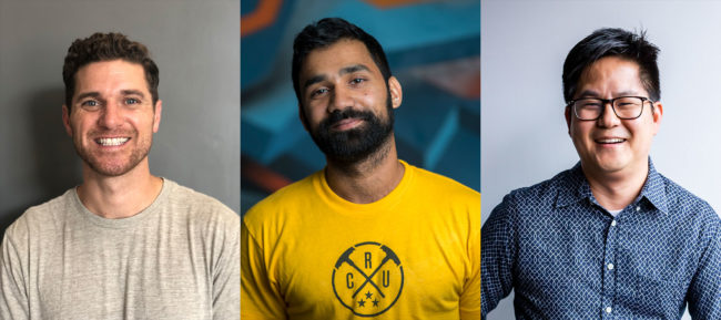 Andrew Potter, Kevin Goradia, Luke Lim