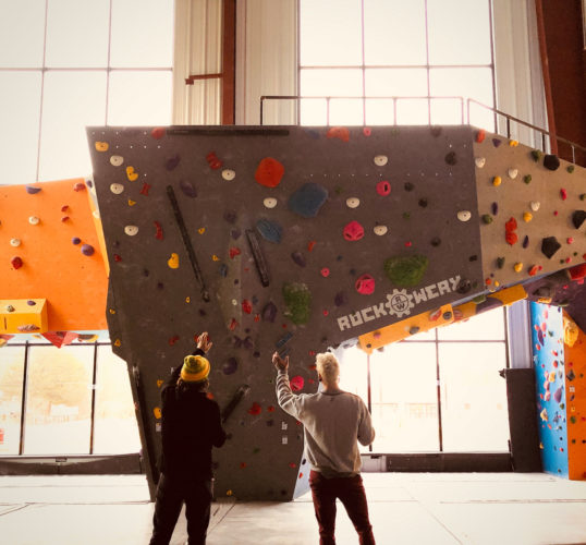 Lessons Learned from the Covid Crisis (Vol 1): bouldering at On The Rocks