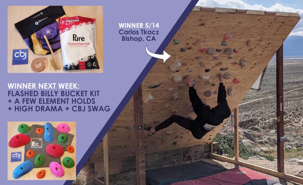 CBJ Homewall of the Week prizes