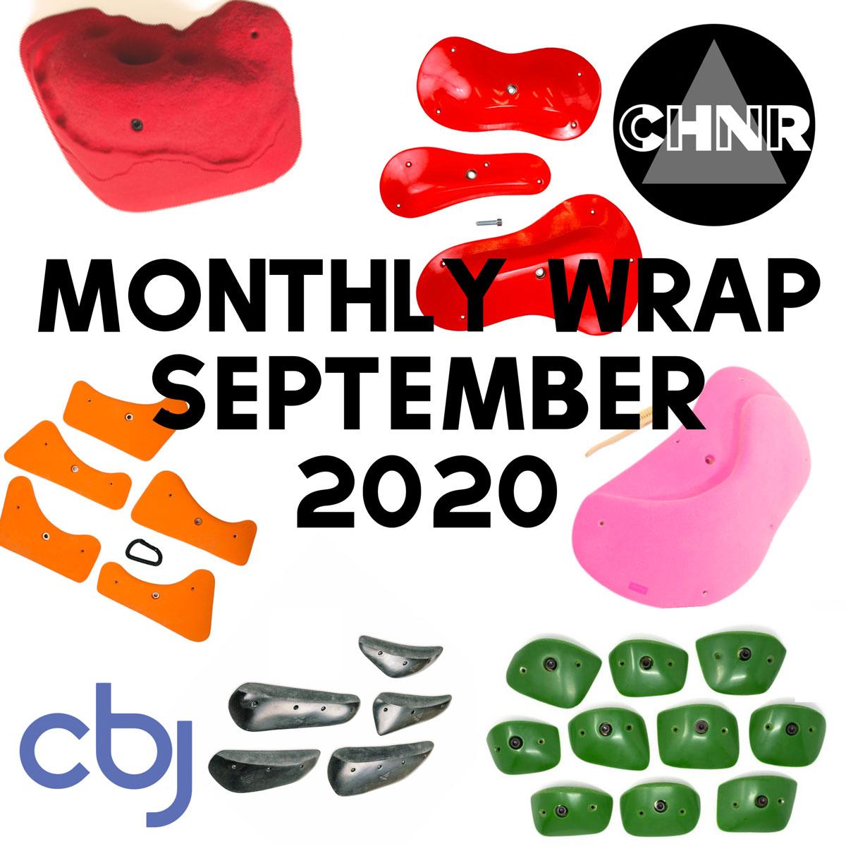 CHNR September Grips Wrap