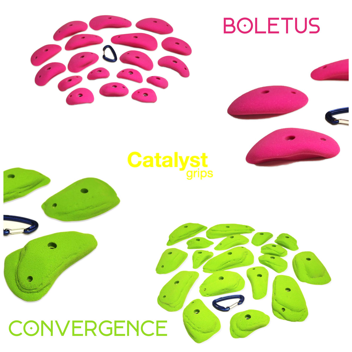 Catalyst Grips' new Convergence and Boletus series