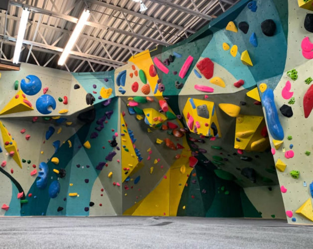 Behind the Desk with Ben Waggoner: inside the Cave Climbing gym
