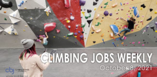 Climbing Jobs Weekly with image of climbers