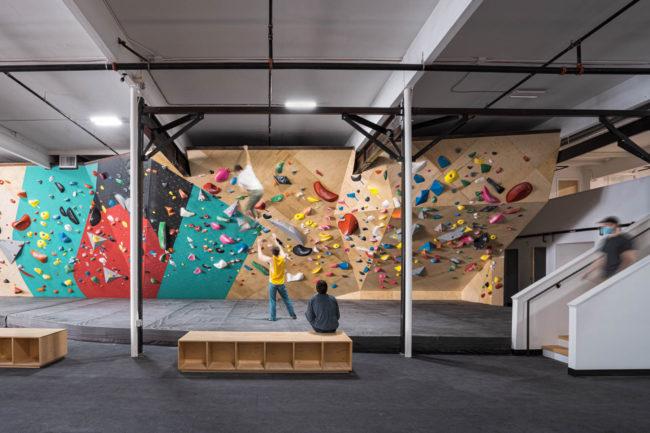 More hard climbing at Uplift's gym