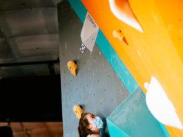 Climbing at this year's Yank-N-Yard