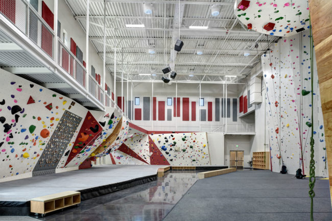 FVSC wanted a state-of-the-art scholastic climbing gym design for its elite climbing team.