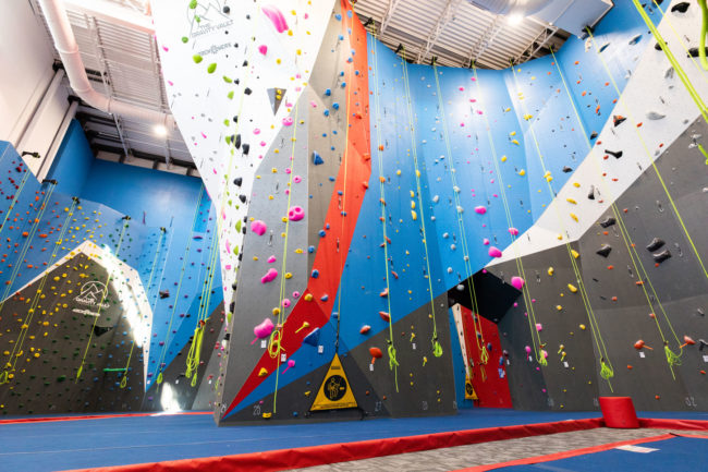 Inside the new Gravity Vault gym