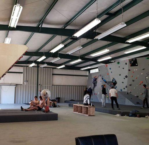 Community at Crux Climbing Alabama