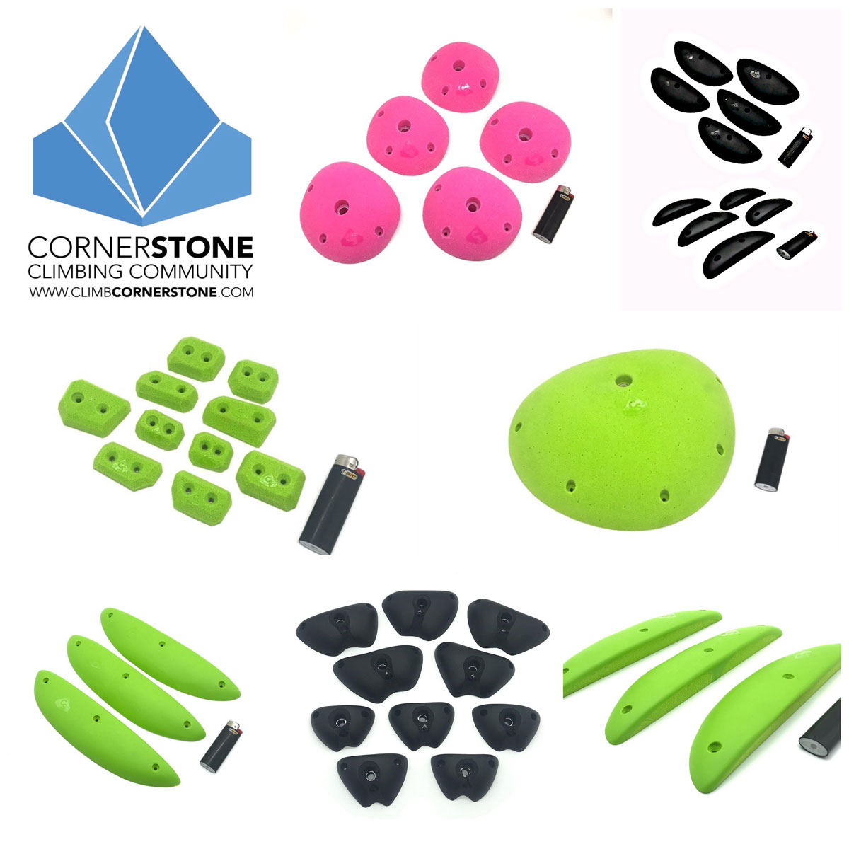 Cornerstone's new smaller shapes