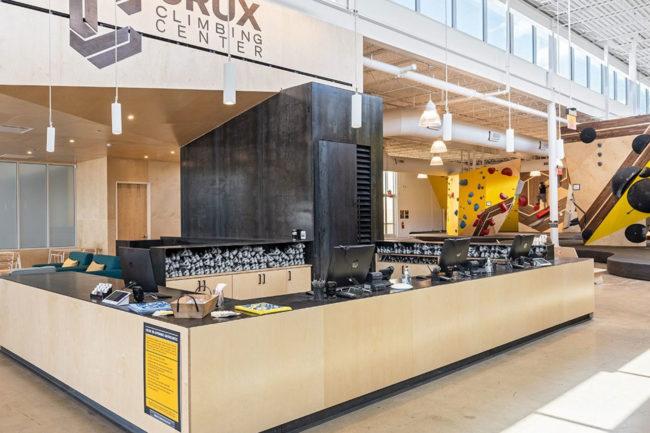 CRM software at Crux's Central Austin expansion gym