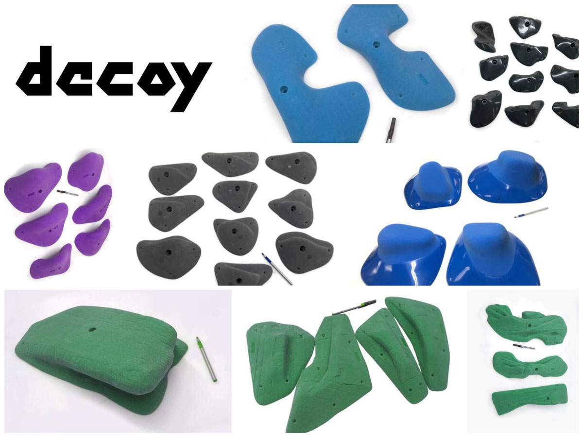 Decoy Climbing Holds