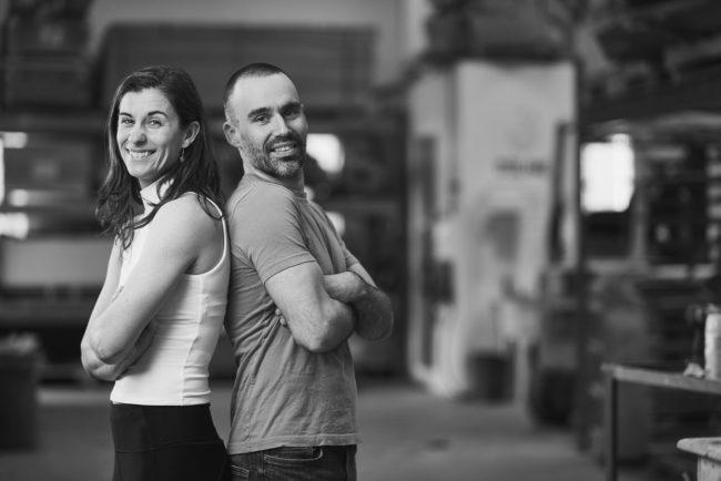 Delire Climbing co-founders Lisa Lajoie and Jean-François Beaulieu