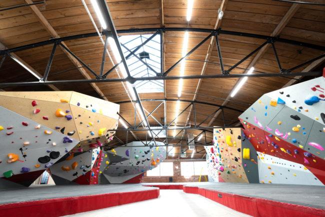Eldorado climbing walls at The Spot Denver