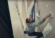 Eldorado Climbing Wall on 30 story rooftop with Kai Lightner