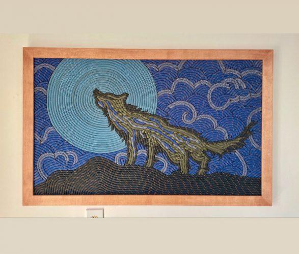 Night Wolf art by Elliot Lacroix