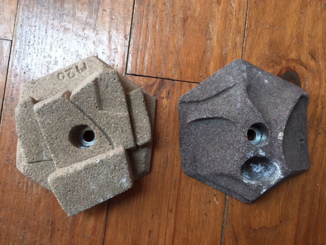 Two of EP USA's early resin holds