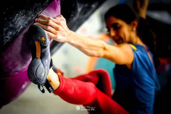 Climbing with Vibram soles