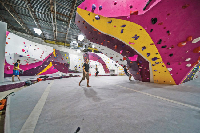 Interior design trends in climbing: bold details at First Ascent Humboldt Park