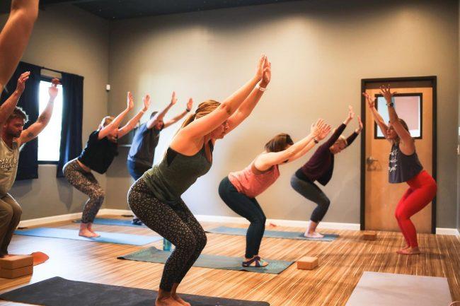 Yoga at Gecko Climbing Gym