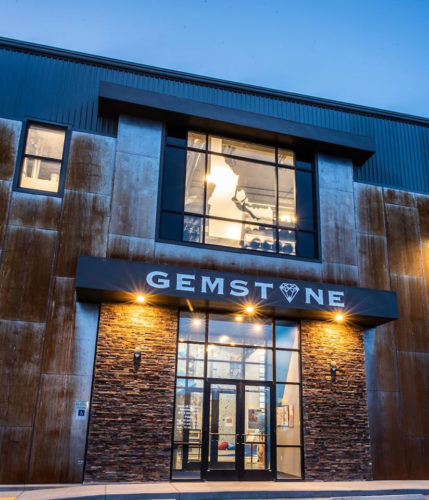 Behind the Closures with Don Campbell - the entrance to Gemstone Climbing Center