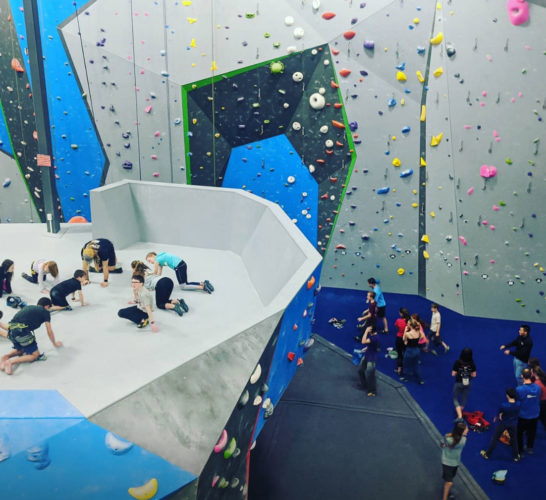 Behind the Closures with Don Campbell - youth training at Gemstone Climbing