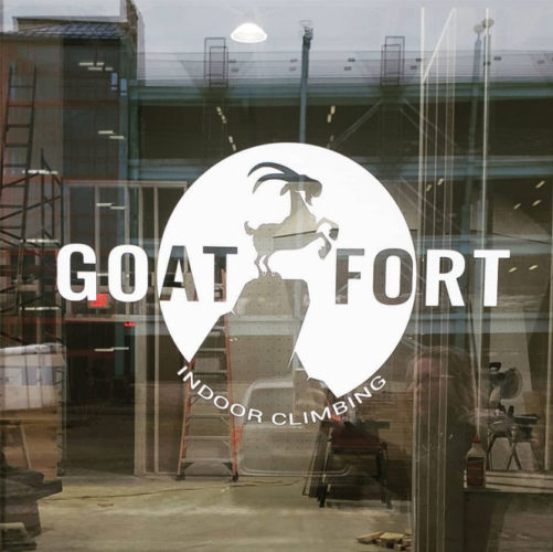 Logo of The Goat Fort, a new big little gym in Pennsylvania