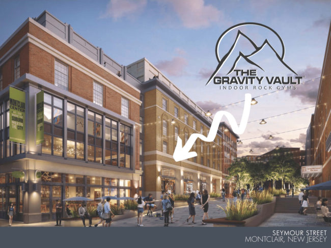 Rendering of first bouldering-focused Gravity Vault gym
