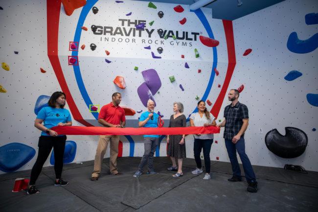 Gravity Vault Montclair grand opening