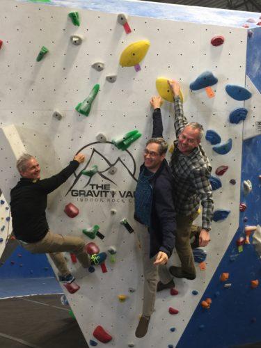 Gravity Vault Heads West with Owner Kovalcik and Franchisees Sklar and Platter