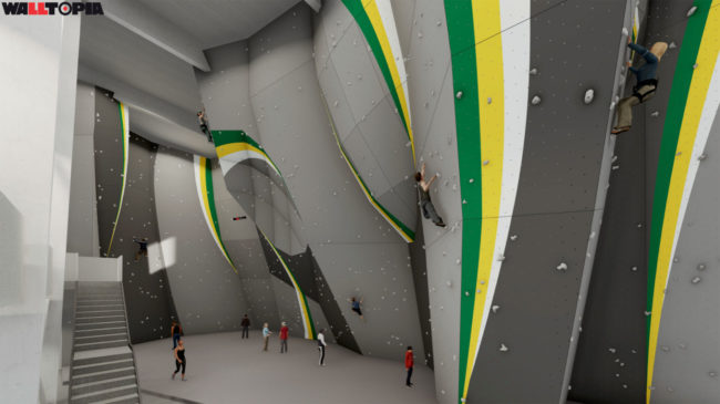 Inside the new High Altitude Fitness gym (rendering)