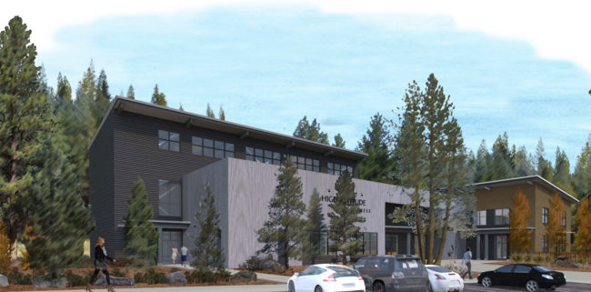 Rendering of the new High Altitude Fitness gym in California
