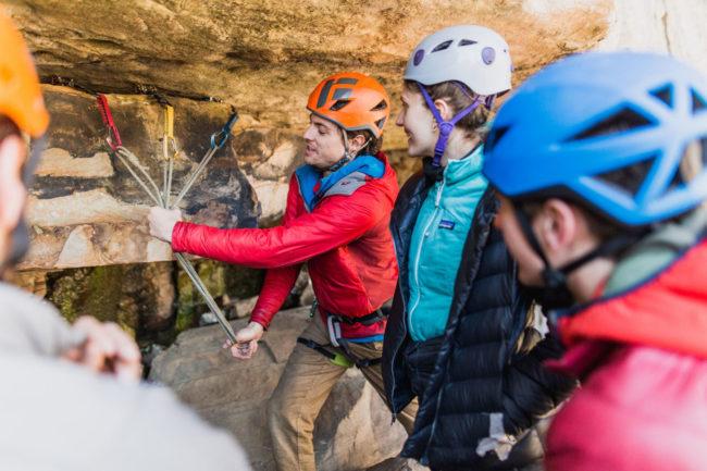 Gym to crag risk management