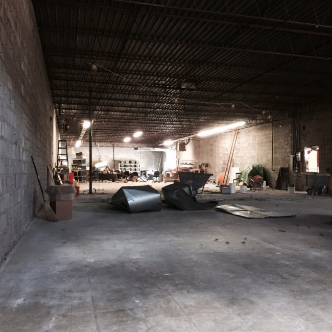 The soon to be Rock Mill.  Photo: Rock Candy