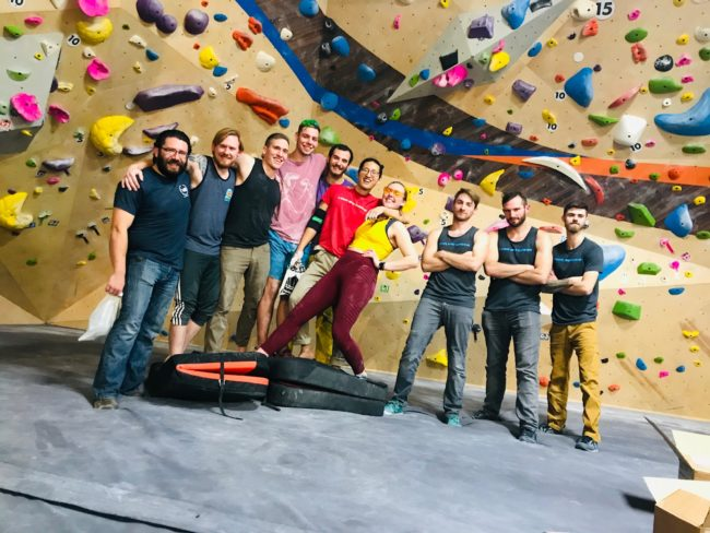 Rock Spot Climbing running a successful climbing league with Venga.