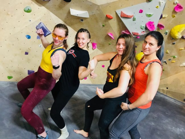 Fun times at C3, a successful climbing league with Venga.
