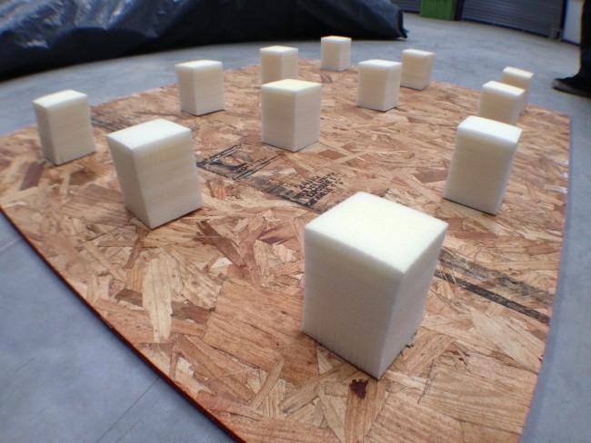 inSpire foam blocks
