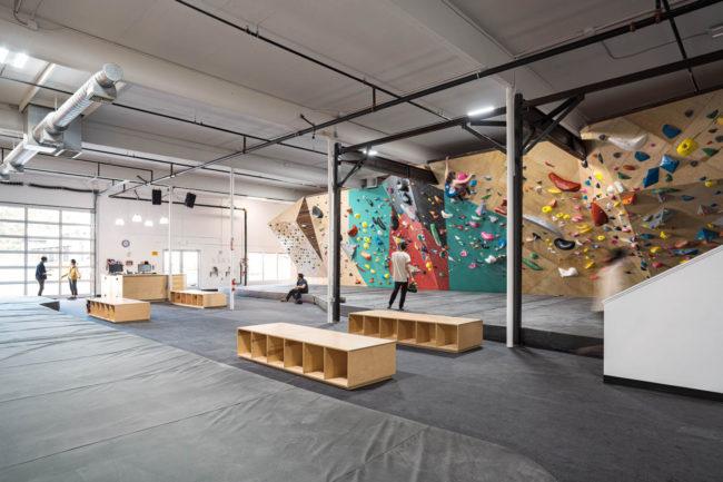 Uplift's boutique-style gym set-up